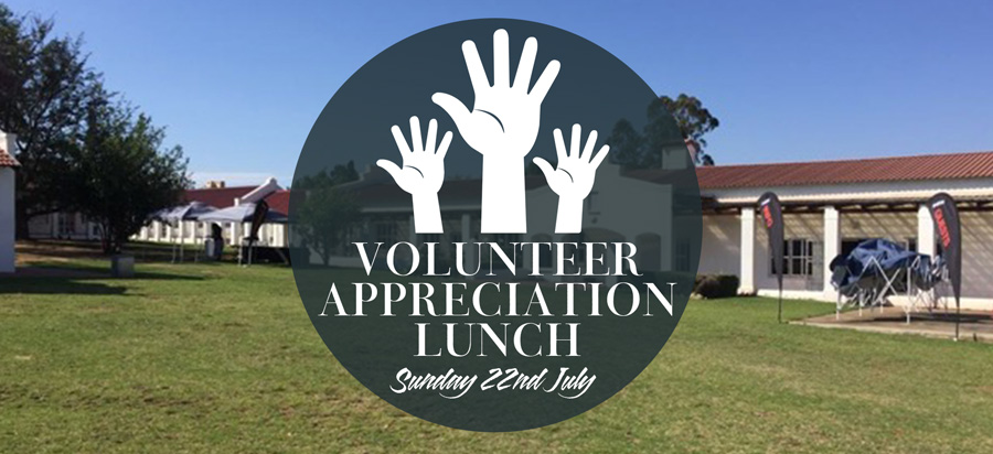 Volunteer Appreciation Lunch